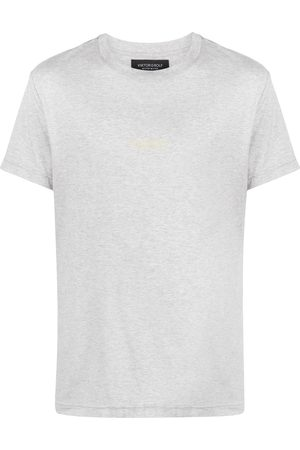 Viktor & Rolf Men T-shirts - Logo-print cotton T-shirt - Grey