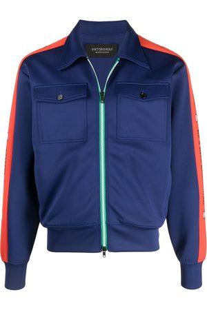 Viktor & Rolf Slogan-print zip-up jacket