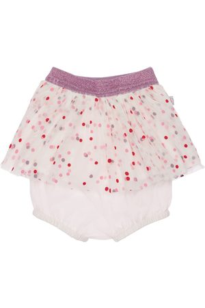 Stella McCartney Girls Printed Skirts - Polka Dots Printed Tulle Skirt