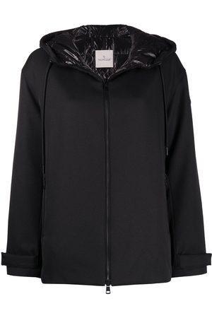 Moncler Women Jackets - Hooded zip-up jacket