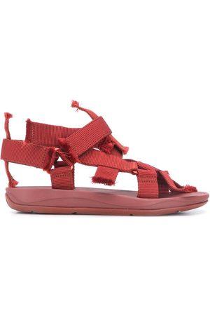 Camper Lab Women Sandals - Match frayed strap sandals