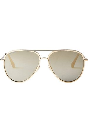 Jimmy Choo Triny aviator-frame sunglasses - Grey