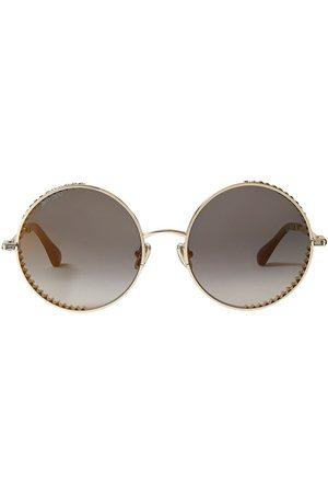 Jimmy Choo Women Round - Goldy round-frame sunglasses - Grey