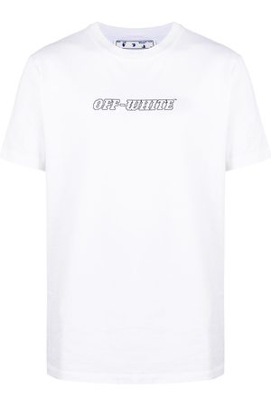 OFF-WHITE Logo print short-sleeved T-shirt