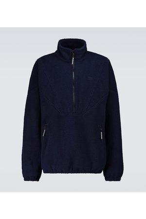 Balenciaga High-neck fleece sweatshirt