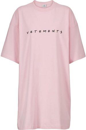Vetements Friendly Logo cotton-jersey T-shirt