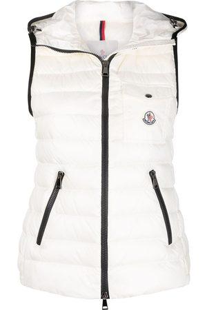 Moncler Glyco padded vest jacket - Neutrals