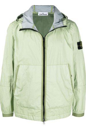 Stone Island Men Jackets - Zip-front hooded jacket