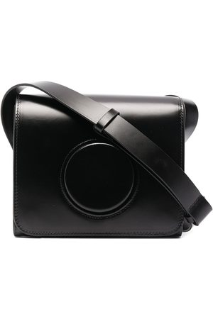 LEMAIRE Women Shoulder Bags - Camera leather crossbody bag