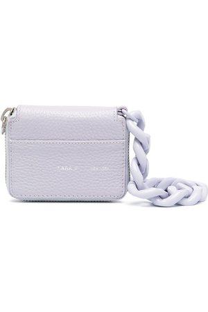 Kara Chunky chain leather mini bag