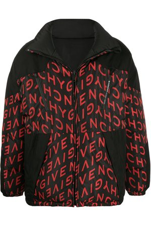 Givenchy Men Puffer Jackets - Reversible logo-print puffer jacket