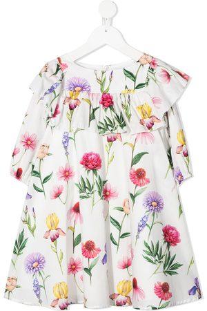 MONNALISA Girls Printed Dresses - Floral-print dress