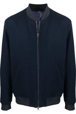 Etro Honeycomb jersey bomber jacket