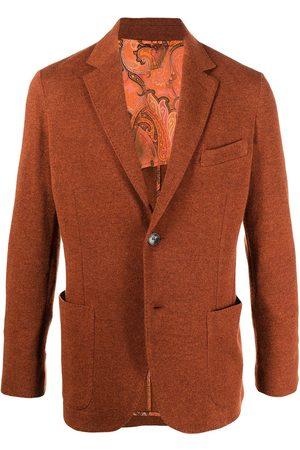 Etro Men Blazers - Tailored woven blazer