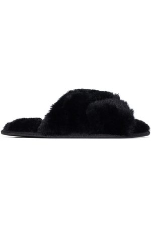 Sleeping with Jacques Women Flat Shoes - Faux-fur flat slippers