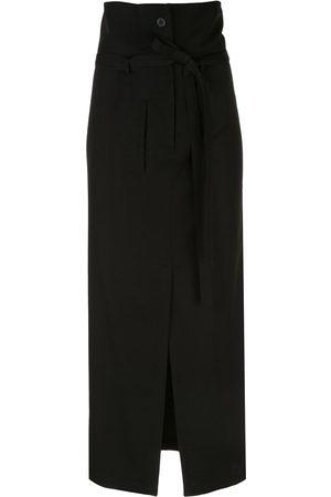 YOHJI YAMAMOTO Knitted straight fit skirt