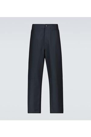 VALENTINO Men Formal Pants - Straight-fit pinstriped pants