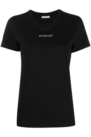 Moncler Embroidered logo T-shirt