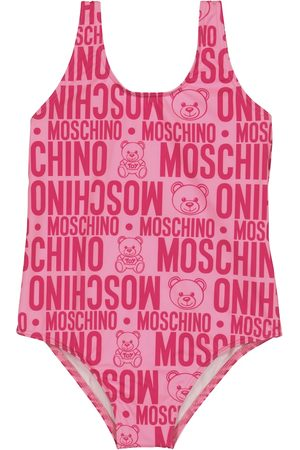 Moschino Girls Swimsuits - Logo swimsuit
