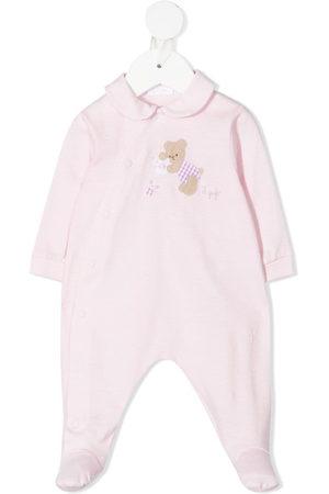 Il gufo Teddy-motif cotton pajamas