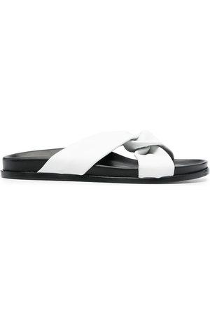 Elleme Open-toe knot sandals - Neutrals