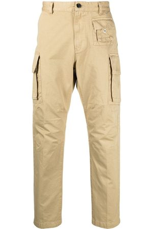 Diesel Men Cargo Pants - Slim-cut cargo trousers - Neutrals