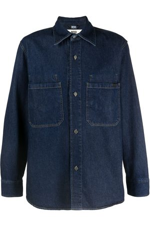 Diesel Men Denim - Rinse wash denim shirt