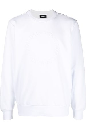 Diesel Copyright embossed sweatshirt