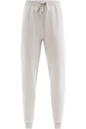DEREK ROSE Daphne 1 Cashmere Pyjama Trousers - Womens - Light Grey
