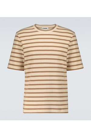 Jil Sander Men Short Sleeve - Short-sleeved striped T-shirt