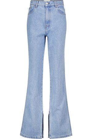 Nanushka Louis high-rise flared jeans