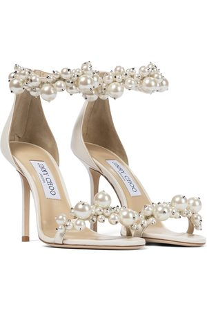 Jimmy Choo Maisel 100 embellished leather sandals