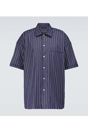 Balenciaga Short-sleeved striped shirt