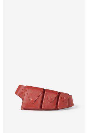 Kenzo Onda leather utility belt
