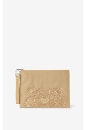 Kenzo Large canvas Kampus Tiger pouch