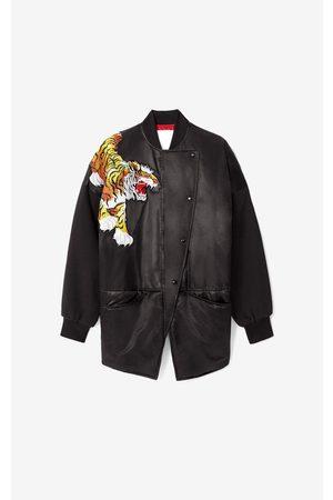 Kenzo X KANSAIYAMAMOTO satin-effect bomber jacket