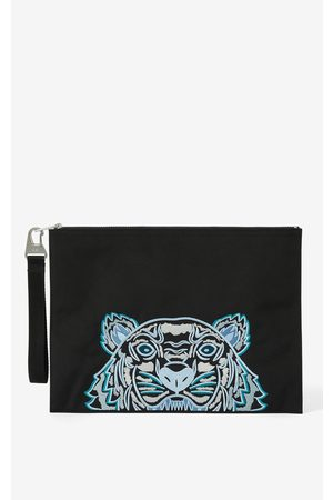 Kenzo Canvas Kampus Tiger pouch