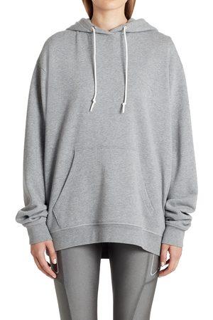 Moncler Women's Back Logo Cotton Blend Hoodie