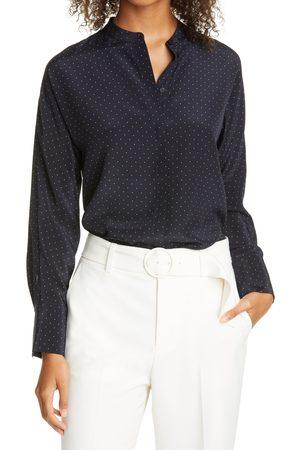 CLUB MONACO Women's Dolman Sleeve Silk Top