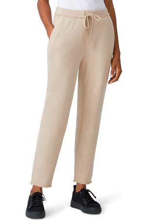 Eileen Fisher Women's Tie Waist Crop Pants