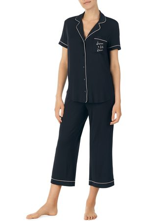 Kate Spade Women's Capri Short Sleeve Pajamas