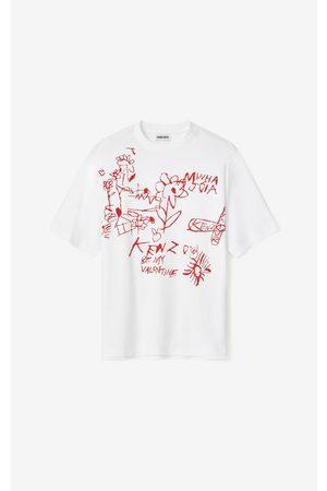 Kenzo Valentine's Day Capsule 'Valentine's flowers' oversize T-shirt