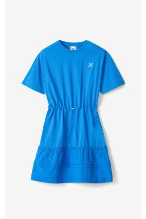 Kenzo Sport 'Little X' dual-material dress