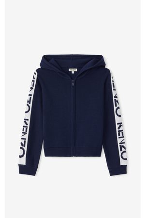 Kenzo Sport hooded zip-up gilet