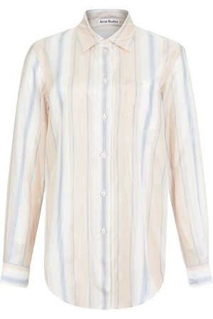 Acne Studios Women Long sleeves - Striped shirt