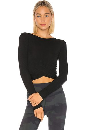 alo Cover Long Sleeve Top in .
