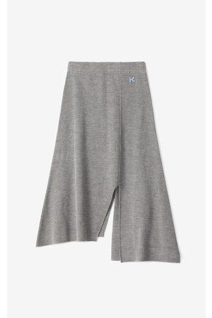 Kenzo Women Midi Skirts - Asymmetric midi skirt