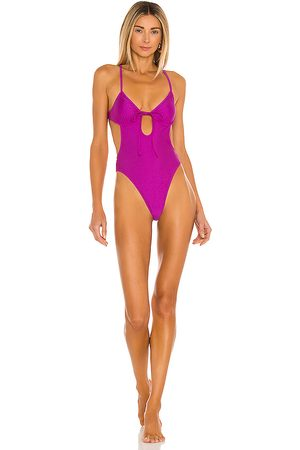 Lovers + Friends Lovers and Friends Loren One Piece in Fuchsia.