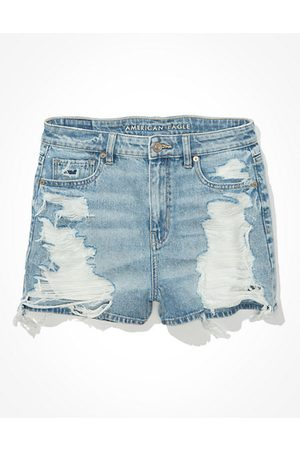 American Eagle Outfitters Denim Mom Shorts Women's 2