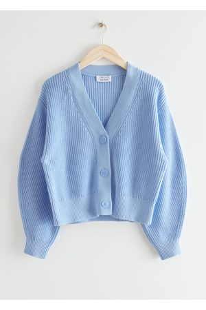 & OTHER STORIES Cropped Boxy Rib Cardigan